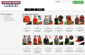United Youth Rugby Spirit Wear (ALL CLUBS)
